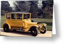Auto: Daimler, 1913 Greeting Card