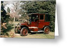 Auto: French Taxi, 1908 Greeting Card