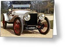 Auto: Hispano-suiza, 1912 Greeting Card