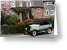 Auto: Jowett, 1927 Greeting Card