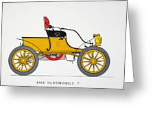 Auto: Oldsmobile, 1904 Greeting Card