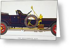 Auto: Rolls-royce, 1908 Greeting Card