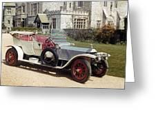 Auto: Rolls-royce, 1909 Greeting Card