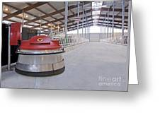 Automated Feed Pusher Greeting Card by Jaak Nilson