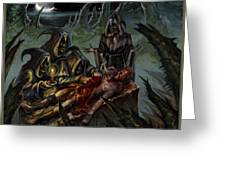 Autopsy Of The Damned  Greeting Card