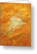 Autum Angel Greeting Card