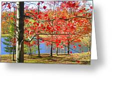 Autum Colors Greeting Card