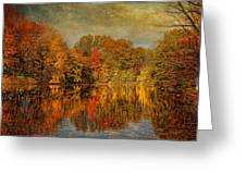 Autumn - Landscape - Tamaques Park - Autumn In Westfield Nj  Greeting Card