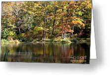 Autumn Ambience Greeting Card