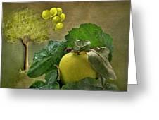 Autumn Apple Greeting Card