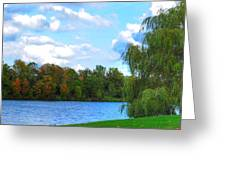 Autumn At Hoyt Lake Greeting Card