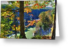 Autumn At Letchworth State Park Greeting Card