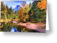 Autumn At Yosemite Greeting Card