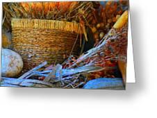 Autumn Basket Greeting Card