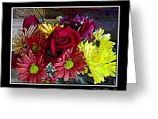 Autumn Boquet Greeting Card