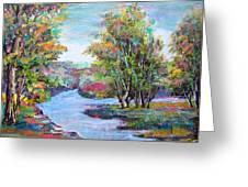 Autumn Brilliant Color Greeting Card