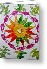 Autumn Chakra Greeting Card