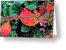 Autumn Composition One Greeting Card