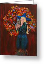 Autumn Fantasy Greeting Card