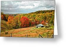 Autumn Farm 2 Greeting Card
