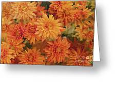 Autumn Garden Impressions Greeting Card