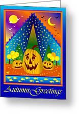 Autumn Greetings Greeting Card