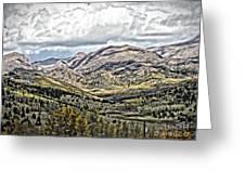 Autumn Hills Greeting Card