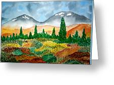 Autumn In Alaska Greeting Card