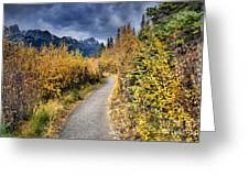 Autumn In Alberta Greeting Card