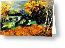 Autumn In Ardennes 672101 Greeting Card