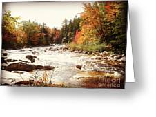 Autumn In New Hampshire Greeting Card by Crystal Joy Photography
