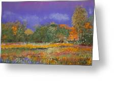 Autumn In Nisqually Greeting Card