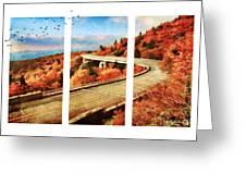 Autumn In North Carolina Greeting Card