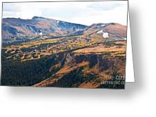 Autumn In Rocky Mountain National Park Greeting Card
