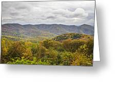Autumn In Shenandoah National Park Greeting Card