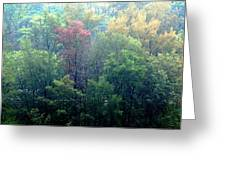Autumn In Singapore Greeting Card