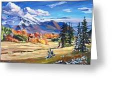 Autumn In The Foothills Greeting Card