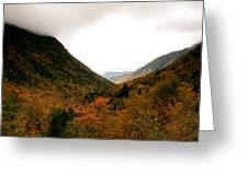 Autumn In The Mountains Greeting Card