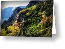 Autumn In The Sandias Greeting Card