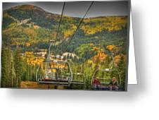 Autumn Lift Greeting Card