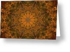 Autumn Mandala 2 Greeting Card