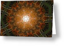 Autumn Mandala 8 Greeting Card