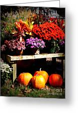 Autumn Market Greeting Card