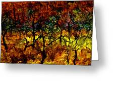 autumn oak rising after the fire - Mesa Verde  Greeting Card