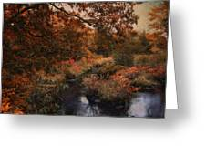Autumn Oasis Greeting Card