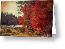 Autumn Of Yesteryear Greeting Card
