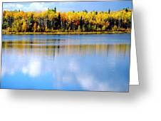 Autumn On Chena Lake Greeting Card