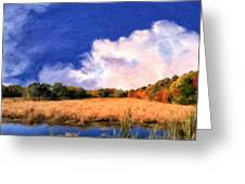 Autumn On Isle Of Palms Greeting Card