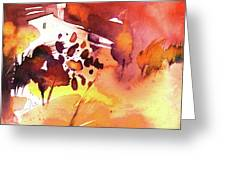 Autumn On Planet Goodaboom Greeting Card