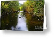 Autumn On Satus Creek  Greeting Card